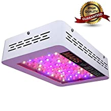 MarsHydro Mars 300w Mars 600w LED Grow Light For Indoor Plant Growth And Flowering Spectrum ETL Certification(Mars 300W the 132W True Watt Panel)
