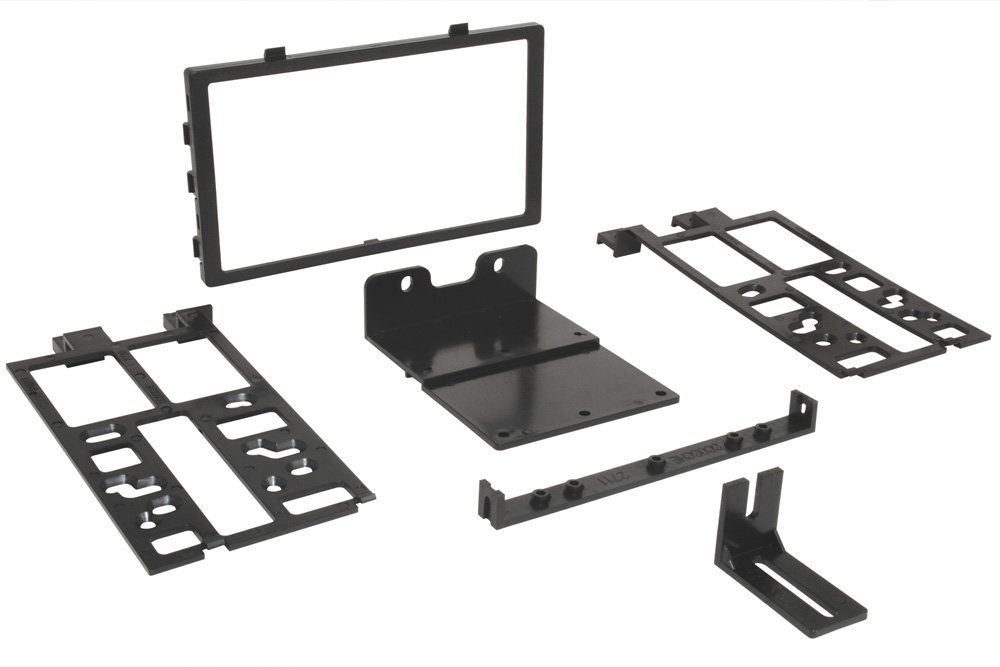 Scosche HA1566B ISO Installation Kit for 1990-Up Honda/Acura with 2 Single DINS or 1 Double DIN