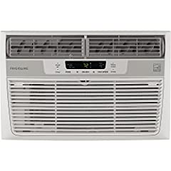 Frigidaire 8, 000 BTU 115V window-mounted mini-compact air conditioner is perfect for cooling a room up to 350 square feet. It quickly cools the room on hot days and quiet operation keeps you cool without keeping you awake. Low power start-up...
