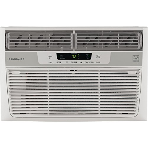 - Frigidaire FFRE0833S1 8,000 BTU 115V Window-Mounted Mini-Compact Air Conditioner with Temperature-Sensing Remote Control