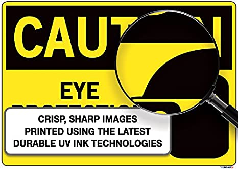 Vestil Caution Sign SI-C-21-D-AL-040-S Aluminum .040 ...