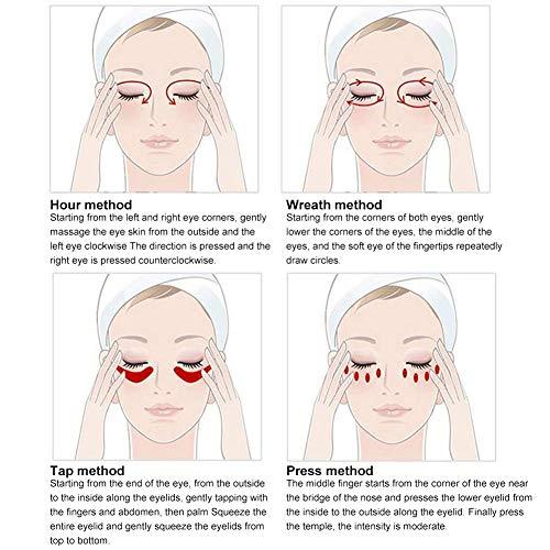 5197pfkZbGL - Eye Treatment Masks,Under Eye Patches, Anti-Aging Mask, with Hyaluronic Acid, Hydrogel, Deep Moisturizing Improves elasticity, Treatment Pads for Dark Circles, Wrinkles, Eye Bag Removal, 50 PCS