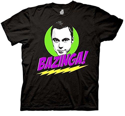 Ripple Junction Big Bang Theory Sheldon Bazinga! Adult T-Shirt