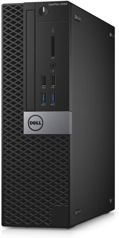 DELL 5040 SFF Small Form Factor Desktop Computer (Intel i3-6100 3.7GHz, 8GB DDR4 RAM, 128GB SSD, USB WiFi Adapter, HDMI, USB 3.0, Two Displayports, Windows 10 pro) (Renewed)