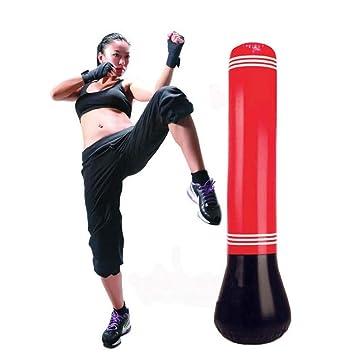 Amazon.com: Saco de boxeo inflable para entrenamiento de ...