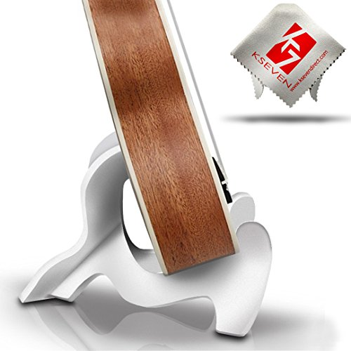 Violin Mandolin KSEV Portable Ukulele Stand Lightweight LDPE Material Instrument Holder for Small Musical String Instrument Ukulele 2 Pack Banjo /& Guitar