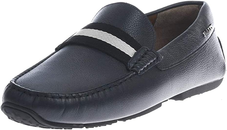 Estar confundido Respiración Trascender  Bally Men's Loafer Flats *: Amazon.co.uk: Shoes & Bags