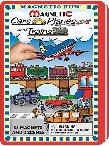 Magnetic Fun - Cars Planes and - Train Car Collectible