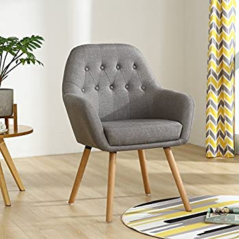 Amazon Com Mid Century Velvet Living Room Accent Armchair