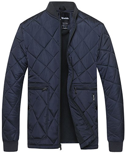 Quilted Nylon Bomber Jacket - 4