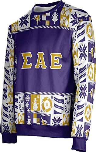 Alabama Paper Chart (ProSphere Unisex Sigma Alpha Epsilon Ugly Holiday Wrapping Paper Sweater (Apparel) (Large))
