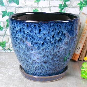 large ceramic pots outdoors outdoor glazed planters indoor uk home garden modern fashion flower planter pot saucer