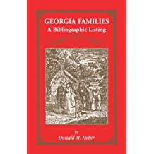 Georgia Families: A Bibliographic Listing