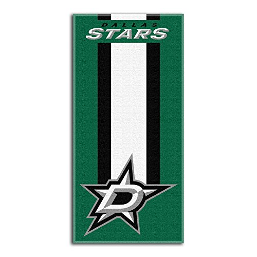 Officially Licensed NHL Dallas Stars Zone Read Beach Towel, 30
