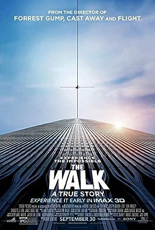 Amazon.com : THE WALK (2015) Original Movie Poster 27x40 - DS - Joseph  Gordon-Levitt - Ben Kingsley - Charlotte Le Bon - Ben Schwartz : Everything  Else