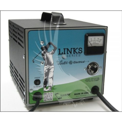 36volt 21amp Links Series Golf Car Battery Charger w/ Sb-50 Grey Anderson Connector by Links Series