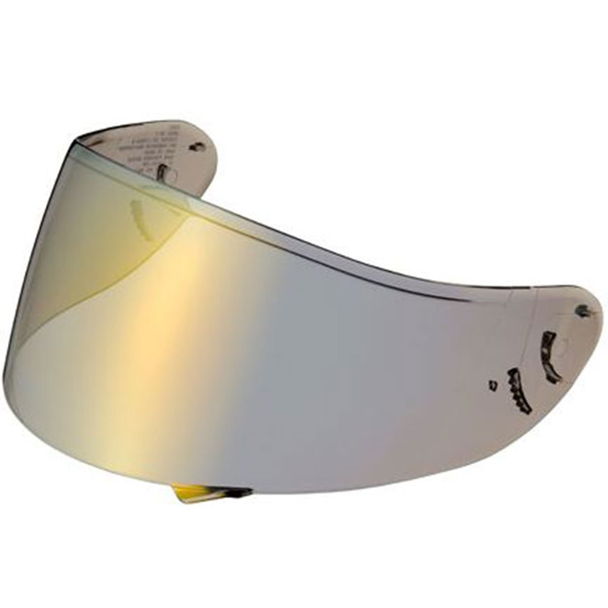 Shoei C-W1 Pinlock Shield Helmet Accessories - Gold One Size