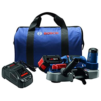 Image of Bosch BSH180-B14 18V Compact Band Saw Kit with CORE18V Battery, Blue Home Improvements