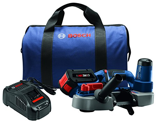 Bosch BSH180-B14 18V Compact Band Saw Kit with CORE18V Battery, Blue by Bosch