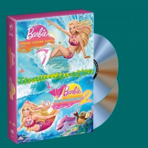2 DVD Barbie - Pribeh morske panny 1+2 (Barbie In A Mermaid`s Tale 1 & 2)