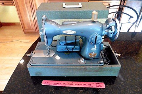 Vintage Macy's Hearald industrial sewing machine 150 Precision DeLuxe Japan - Macy's Gifts For Him