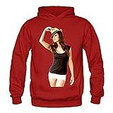 THOELLY Custom Minka Kelly Women's Blank Hooded Sweatshirt Fall/Winter