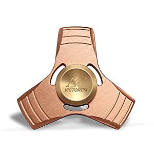 VICTOREM EDC Hand Spinner Metal Fidget ADHD Focus Toy Ultra Durable Copper & Brass Made High Speed - From MSKJ Company