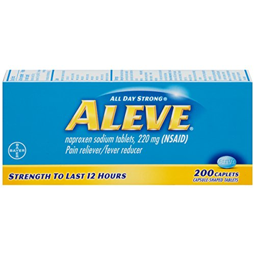 Aleve Caplets, 200 Count (pack of 2) (Aleve Cold Medicine)
