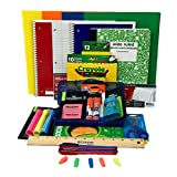 Elementary School Supply Pack for Boys 26 Pieces , Kindergarten, 1st, 2nd, 3rd, 4th, 5th and 6th Grades