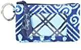 Vera Bradley womens Zip Id Case, Cuban Tiles, One size