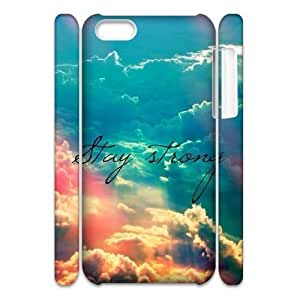 diy phone casePersonalized New Print Case for ipod touch 5 3D, Stay Strong Phone Case - HL-R656119diy phone case