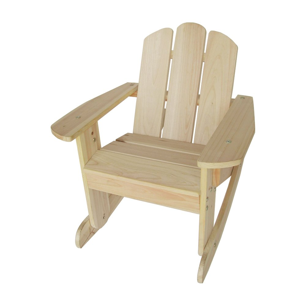 Lohasrus Kids Rocking Chair, Natural