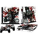 MODFREAKZ™ Console and Controller Vinyl Skin Set – Blood Bath Helghast for Playstation 4