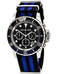 Michael Kors Everest Grosgrain Mens Watch MK8398