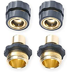 "3/4"" Garden Hose Quick Connector Value Pack"