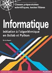 Informatique: Initiation à l'algorithmique en Scilab et Python
