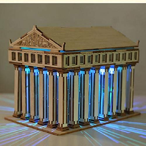 MaviGadget Wooden Solar Temple of Zeus by MaviGadget