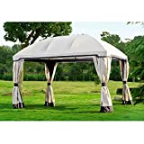 Sunjoy Replacement Canopy for 10x13ft Pomeroy Domed Top Gazebo For Sale