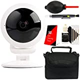 Vivitar VIV-IPC-117N IP CAM Security 360-View Wi-Fi Camera + 50 Lens Tissue + Lens Pen + Dust Blower + Case + 3pc Cleaning Kit