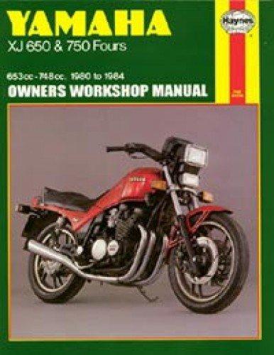 H738 Yamaha XJ650 and XJ750 1980-1984 Motorcycle Service Repair Manual
