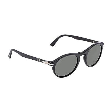 950d381f71f Persol Mens Sunglasses Black Green Acetate - Non-Polarized - 51mm