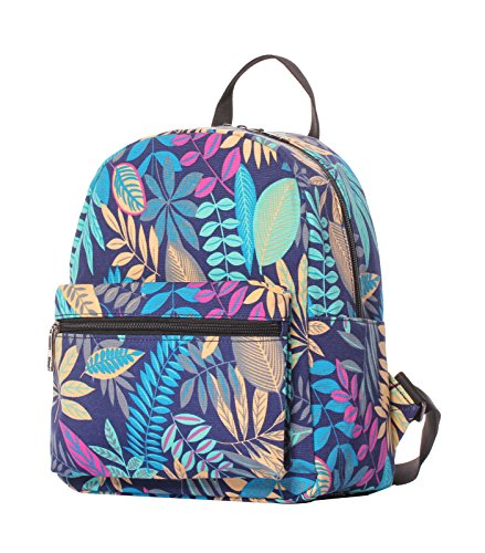 Veenajo Small Lightweight Canvas Backpack Casual Daypack Ipad backpack for Women Girls Teens Kids (Leaf - Buy Online Coach Outlet