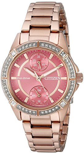 (Drive from Citizen Eco-Drive Women's Watch with Swarovski Crystal Accents, FD3003-58X)