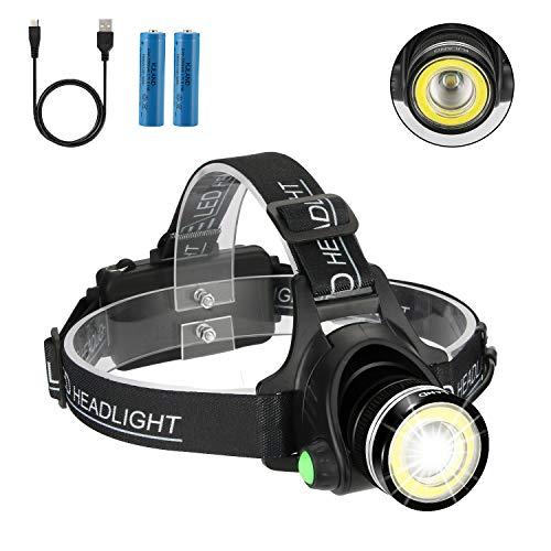 Headlamp Flashlight 2 in