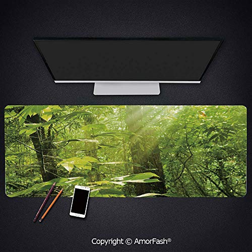 Thick Printed Art Mousepad - Rubber Mouse Pad for Laptop,Computer,PC,Keyboard,35.5