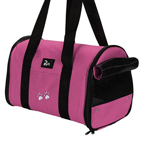 portable small pet dog cat sided carrier