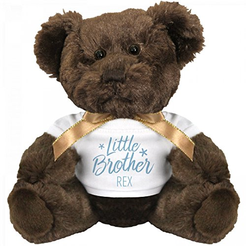 Little Brother Rex Bear: Small Teddy Bear Stuffed (Little Brother Teddy Bear)