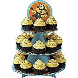 Wilton 1512-7112 Despicable Me 3 Minions Cupcake Stand, Assorted