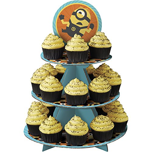 Wilton 1512-7112 Despicable Me 3 Minions Cupcake Stand, Assorted -