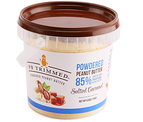 Powdered Peanut Butter (Salted Caramel, 6.5 Oz) PB Trimmed